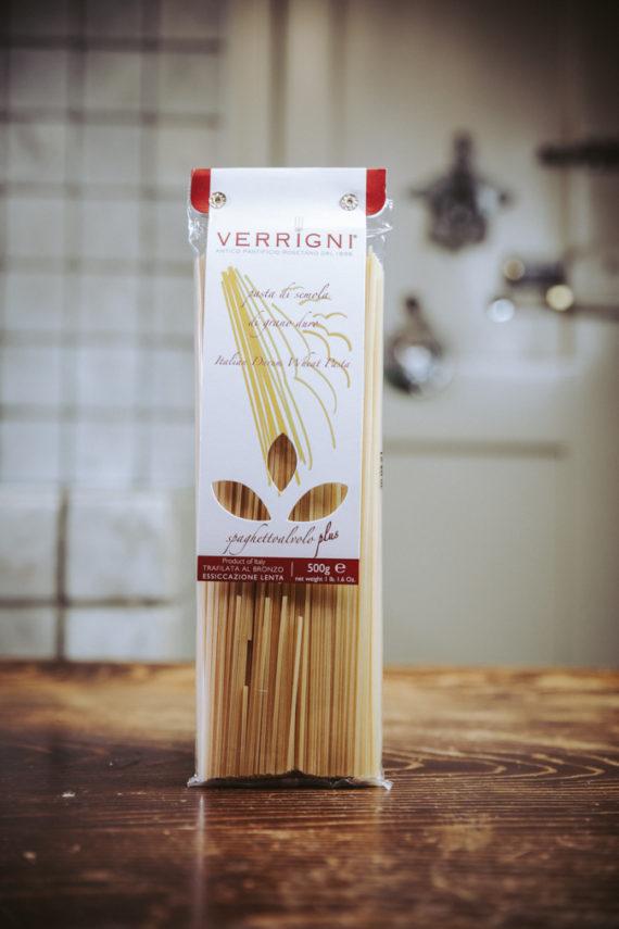 spaghetto al volo plus verrigni