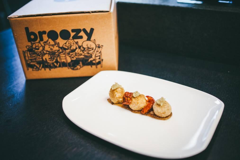 Le ricette di Broozy: polpettine ceci e cacio