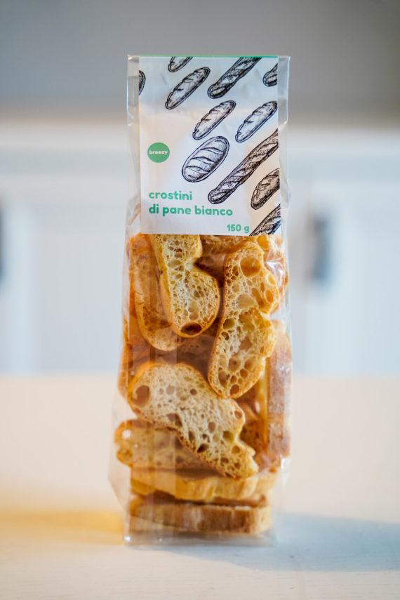crostini di pane broozy