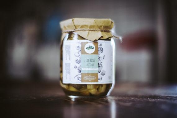 zucchine sott'olio abruzzesi
