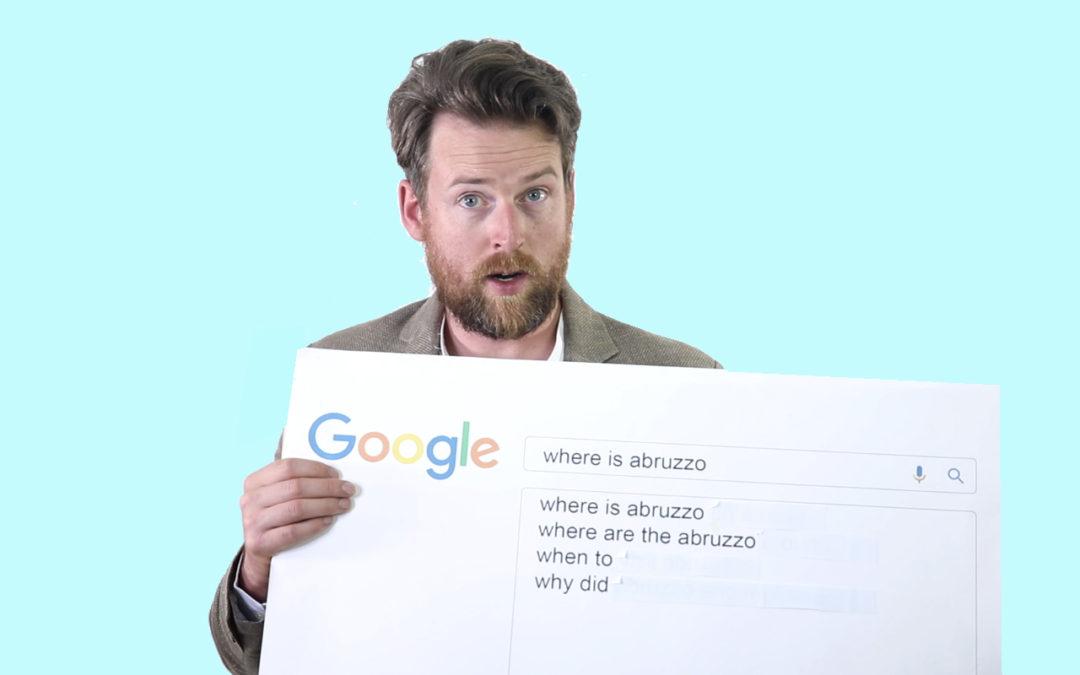 Google Autocomplete Abruzzo